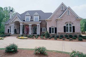 Dream House Plan - Country Exterior - Front Elevation Plan #54-183