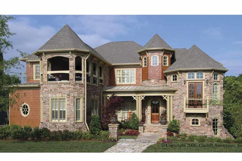 Victorian Exterior - Front Elevation Plan #54-268 - Houseplans.com