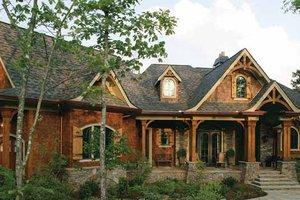 Craftsman Exterior - Front Elevation Plan #54-338