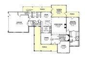 Farmhouse Style House Plan - 3 Beds 2.5 Baths 2382 Sq/Ft Plan #20-239 Floor Plan - Main Floor Plan