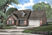 Traditional Style House Plan - 3 Beds 2.5 Baths 1697 Sq/Ft Plan #17-285 Exterior - Front Elevation