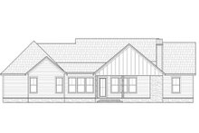House Design - Farmhouse Exterior - Rear Elevation Plan #1074-32
