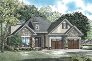 Traditional Style House Plan - 3 Beds 3 Baths 2457 Sq/Ft Plan #17-2465 Exterior - Front Elevation