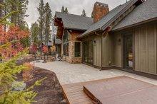 Craftsman Exterior - Rear Elevation Plan #892-28