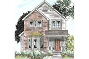 Traditional Style House Plan - 3 Beds 3 Baths 1706 Sq/Ft Plan #20-1704