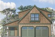 Craftsman Style House Plan - 1 Beds 1 Baths 2236 Sq/Ft Plan #124-935 Exterior - Front Elevation