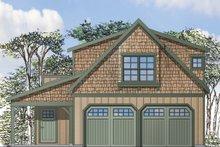 Craftsman Exterior - Front Elevation Plan #124-935