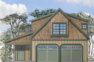 House Plan Design - Craftsman Exterior - Front Elevation Plan #124-935