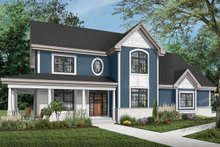 Traditional Exterior - Front Elevation Plan #23-603