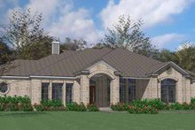House Design - Country Exterior - Front Elevation Plan #120-202