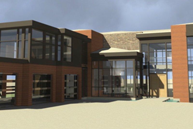Contemporary Exterior - Front Elevation Plan #64-324 - Houseplans.com