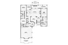European Floor Plan - Main Floor Plan Plan #17-3372