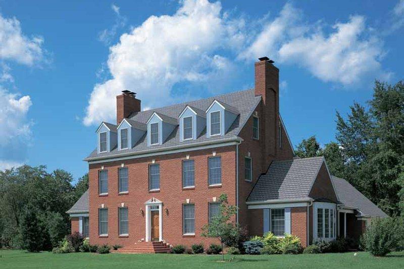 Classical Exterior - Front Elevation Plan #72-684 - Houseplans.com