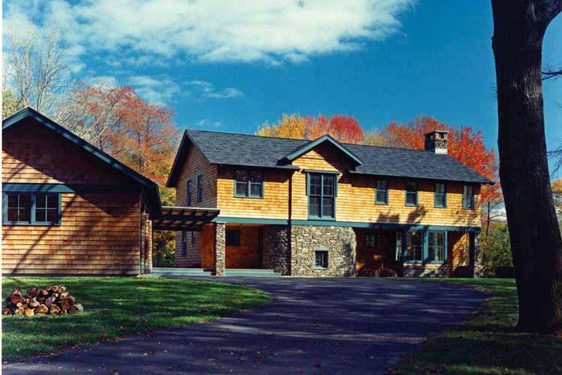 Craftsman Exterior - Front Elevation Plan #961-2