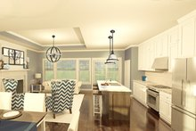 Ranch Interior - Kitchen Plan #1010-179