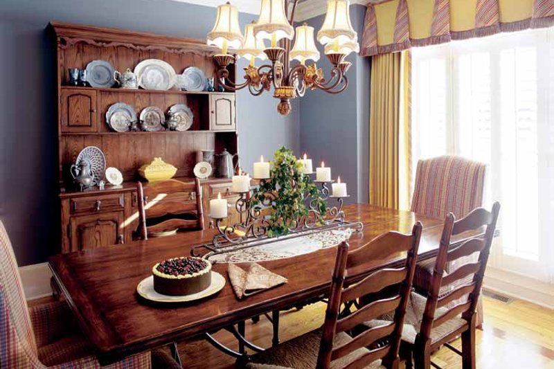 Country Interior - Dining Room Plan #927-855 - Houseplans.com