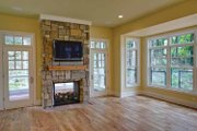 Craftsman Style House Plan - 3 Beds 4.5 Baths 4060 Sq/Ft Plan #928-71 Interior - Family Room