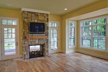 Craftsman Interior - Family Room Plan #928-71