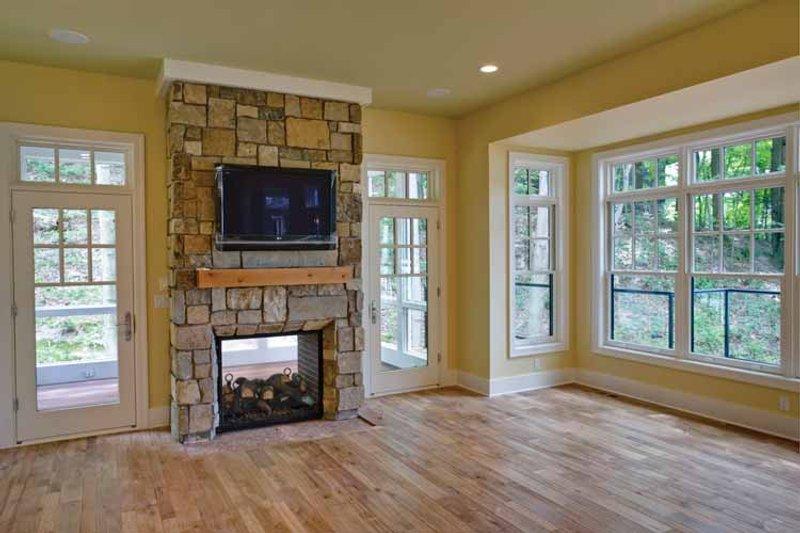 Craftsman Interior - Family Room Plan #928-71 - Houseplans.com