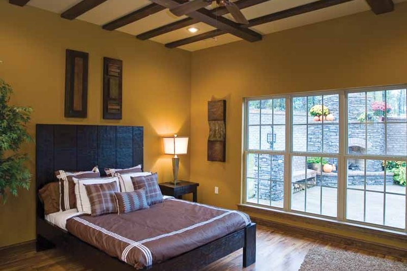 Traditional Interior - Master Bedroom Plan #17-2779 - Houseplans.com