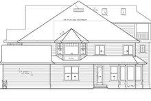 Dream House Plan - Craftsman Exterior - Other Elevation Plan #132-513