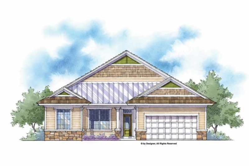 Country Exterior - Front Elevation Plan #938-2 - Houseplans.com
