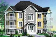European Style House Plan - 2 Beds 1 Baths 6492 Sq/Ft Plan #25-304 Exterior - Front Elevation