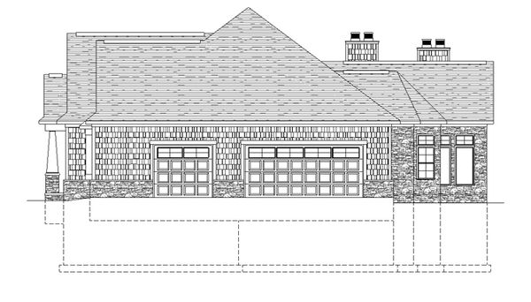 Craftsman Floor Plan - Other Floor Plan Plan #1057-1