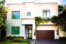 Contemporary Exterior - Front Elevation Plan #1021-17