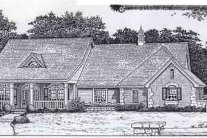 Colonial Exterior - Front Elevation Plan #310-806