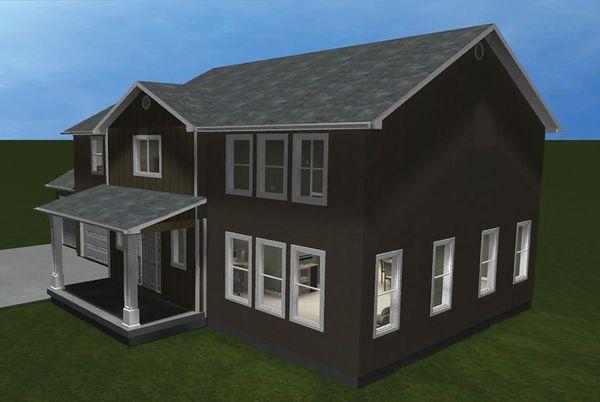Traditional Floor Plan - Other Floor Plan Plan #1060-15