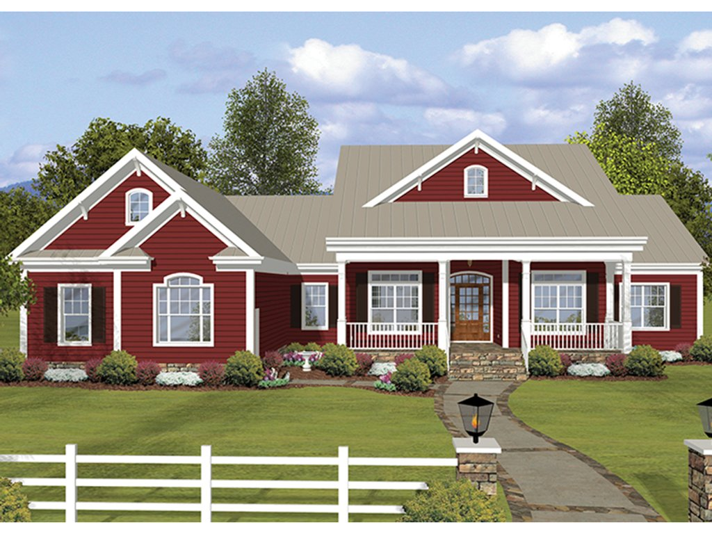 Ranch style house plan 3 beds 3 5 baths 2294 sq ft plan for Weinmaster house plans