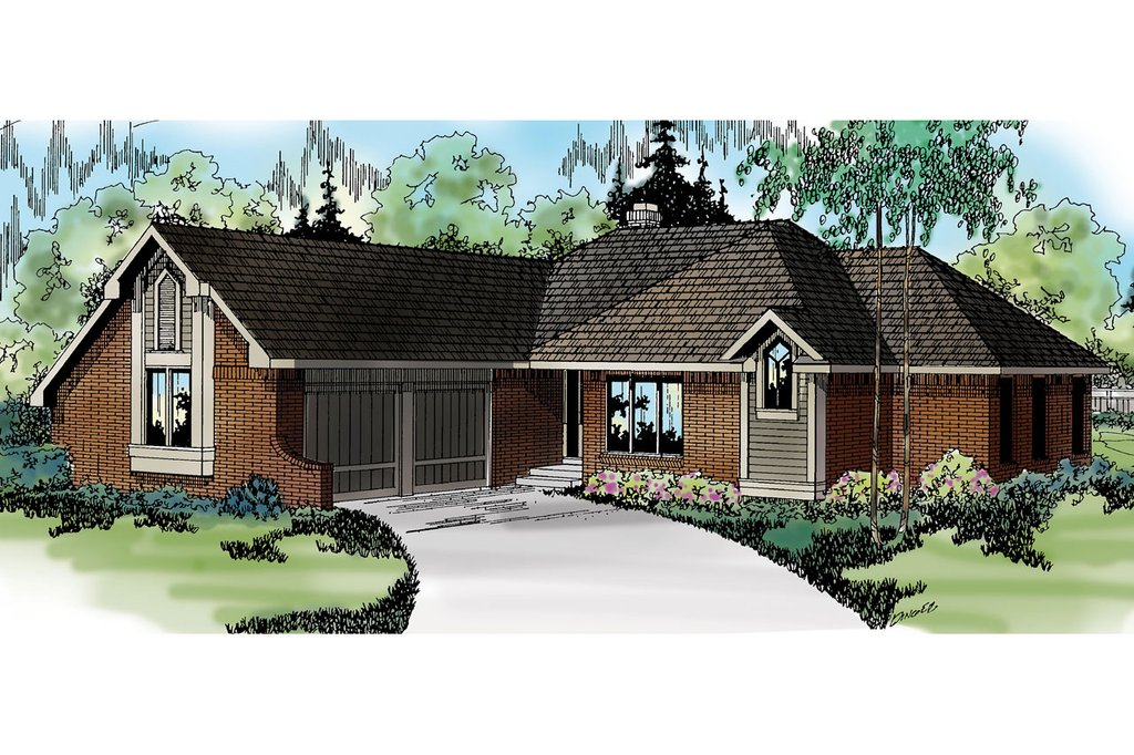 Exterior - Other Elevation Plan #124-117