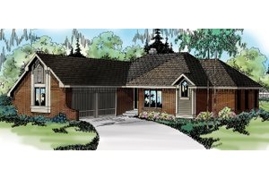 House Design - Exterior - Other Elevation Plan #124-117