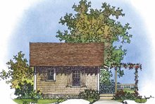 Country Exterior - Other Elevation Plan #1016-72