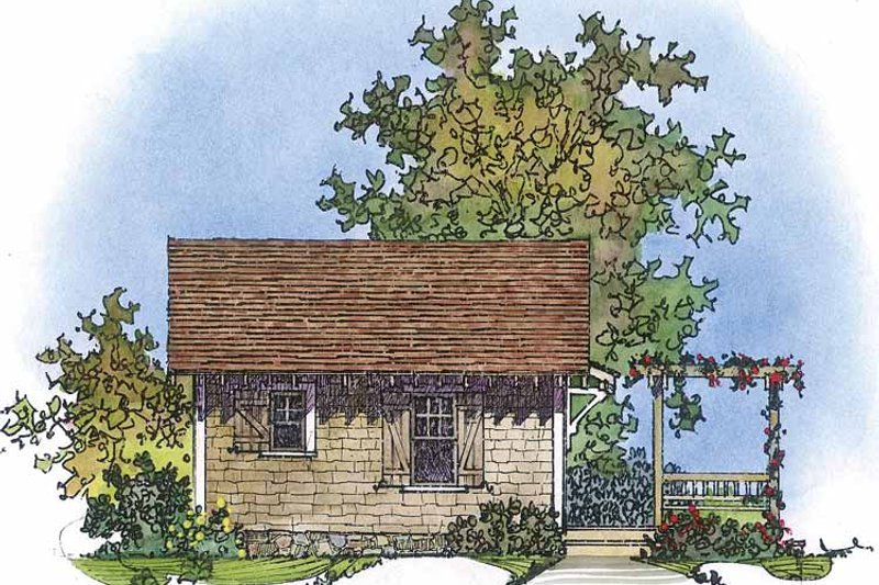 Country Exterior - Other Elevation Plan #1016-72 - Houseplans.com
