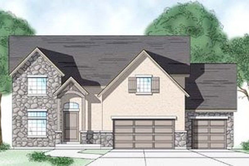 House Design - Country Exterior - Front Elevation Plan #5-182
