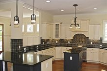 House Plan Design - Craftsman Interior - Kitchen Plan #453-9