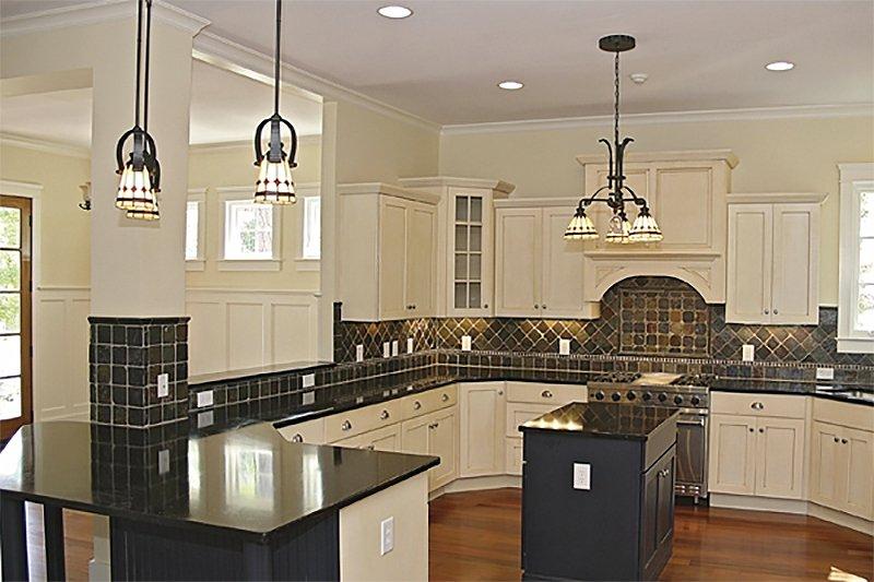 Craftsman Interior - Kitchen Plan #453-9 - Houseplans.com