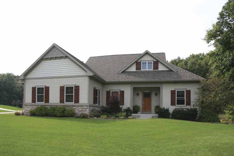 House Plan Design - Craftsman Exterior - Front Elevation Plan #928-130