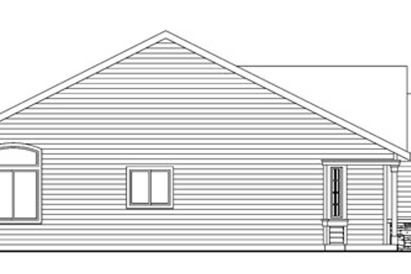 Traditional Exterior - Other Elevation Plan #124-738 - Houseplans.com