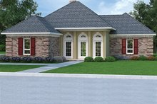 Dream House Plan - Country Exterior - Front Elevation Plan #45-478
