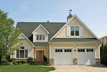 Architectural House Design - Craftsman Exterior - Front Elevation Plan #928-208