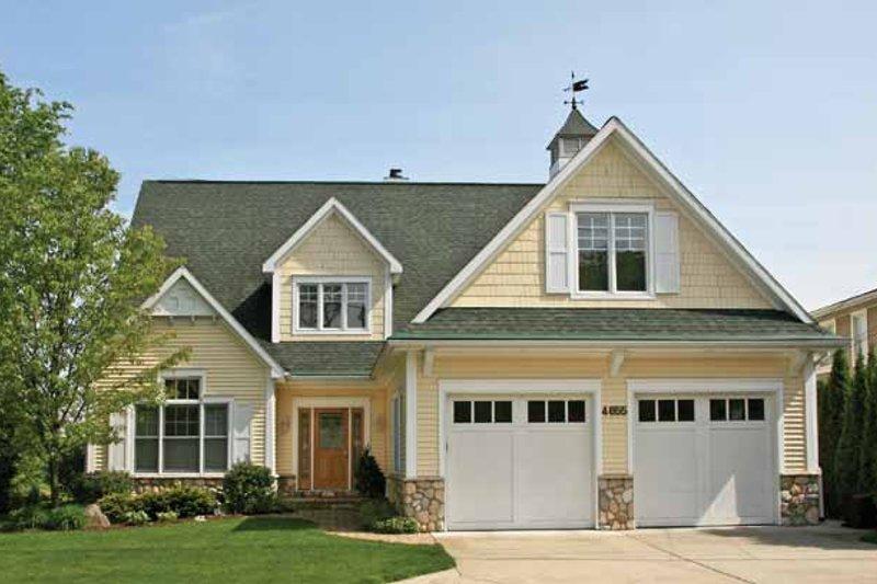 Architectural House Design - Craftsman Exterior - Front Elevation Plan #928-208