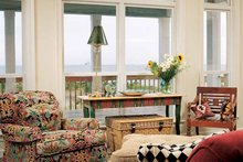 Country Interior - Family Room Plan #37-244