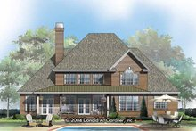 Architectural House Design - Traditional Exterior - Rear Elevation Plan #929-799