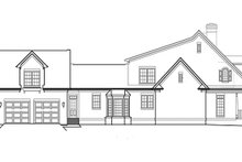 Classical Exterior - Other Elevation Plan #453-427