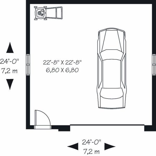 Floor Plan - Main Floor Plan Plan #23-770