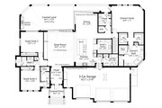 Ranch Style House Plan - 4 Beds 4.5 Baths 3620 Sq/Ft Plan #938-112 Floor Plan - Main Floor