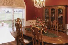 House Plan Design - Traditional Interior - Dining Room Plan #21-422